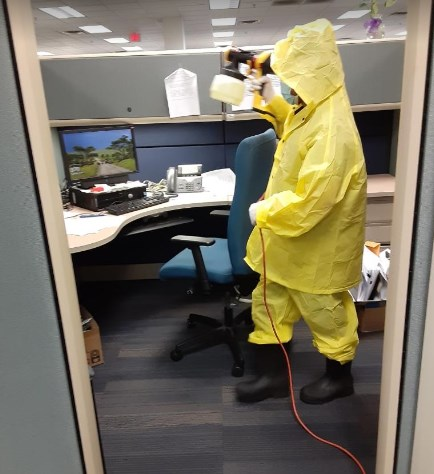 Office disinfection services